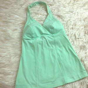 Lululemon mint green tank 4